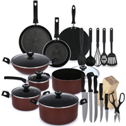 Prestige 25 Piece Non-Stick Cookware Set