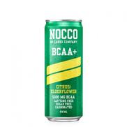 Nocco Bcaa Plus Citrus and Elderflower Energy Drink Caffeine Free 330 ml