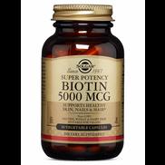 Solgar Super Potency Biotin 50 Vegetable Capsule
