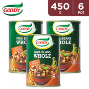 Goody Whole Fava Beans w Chick Peas 6 x 450 g
