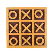Wood XO Game Assorted Colors