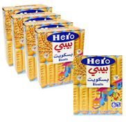 Hero Baby Food Biscuits 6 x 180 g