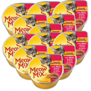 Wholesale - Meow Mix Chicken & Beef Cats Food 78 g 12 Pieces