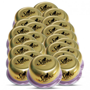 Wholesale - Sheba Dome Prime Cuts Of Tuna And Prawn Wet Cat Food 24x80 g