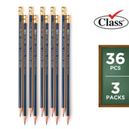 Class Muthalath 2 HB Pencils 12 Pieces 2+1 Free