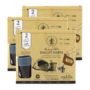 Dallet Nabta Arabic Coffee with Cardamom 25 g 2 Bags - 4 Pieces