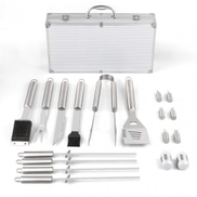 BBQ Tools Set with Carry Box - 18 Pieces