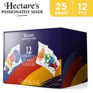 Hectare's Mini Packs Of Mixed Flavours Chips 12 x 25 g