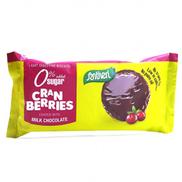 Santiveri Digestive Light Cranberry Coated Dark Choco Sugar Free Biscuits 85 g