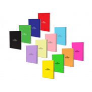 University Note Book PP Spiral 100 Sheets 8 x 10 Assorted Color