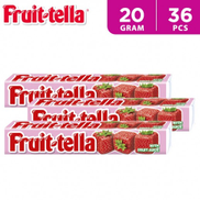 Fruittella Chewy Candy Strawberry 10 Pieces Stick 20 x 36 g