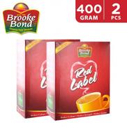 Brooke Bond Red Label Black Loose Tea 2 x 400 g