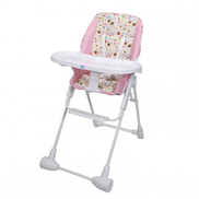TheKiddoz High Chair Pink