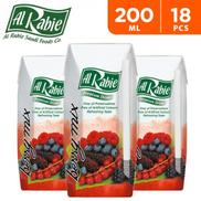 Al Rabie Berry Mix Juice 200 ml 18 Pieces
