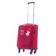 US Polo Small Seven Soft Expandable TSA Lock 57 x 34 x 24 cm - Red