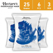 Hectares Potato Chips A Touch Of Sea Salt 25 g 6 x 3