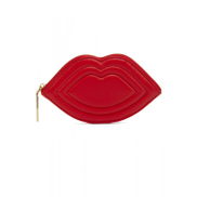 Lulu Guiness Red coin lip purse