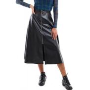 The Loft Leather skirt