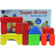 Skid Fusion Super Bricks Funny Play Set 628-37