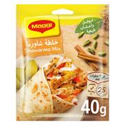 Maggi Chicken Shawarma Mix Natural 40g