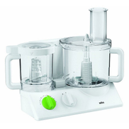 Braun FX3030 Tribute Collection Food Processor, Silent Strength, 2 Ltr 800W