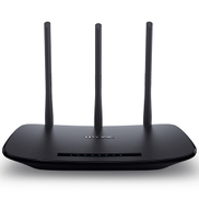 TP-LINK TL-WR940N V3 Wireless N450 Home Router, 450Mbps, 3 External Antennas, IP QoS, WPS Button New Model